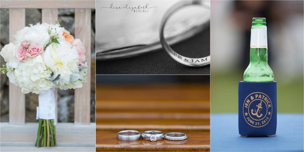 Jen + Patrick - Nauticus Marina Wedding - Cape Cod Wedding Photographer-10