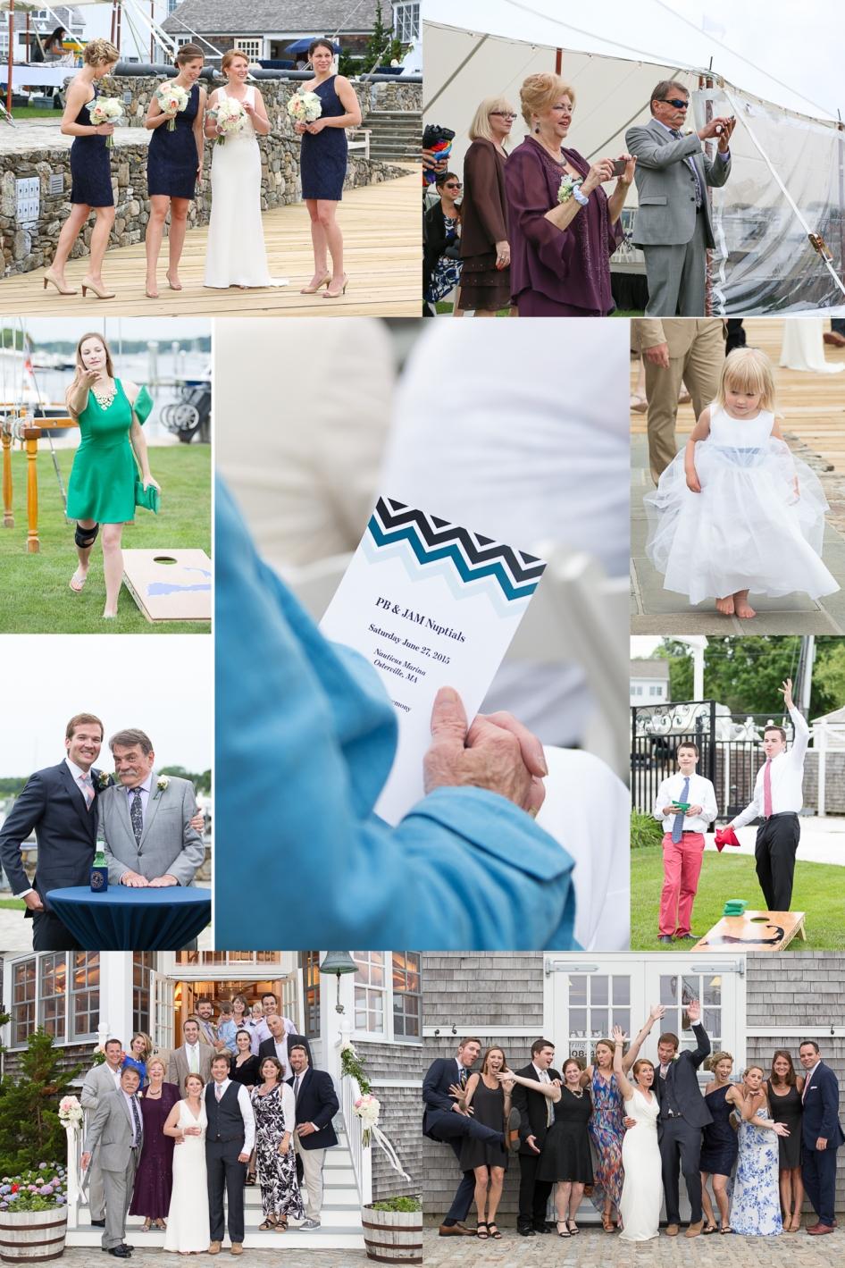 Jen + Patrick - Nauticus Marina Wedding - Cape Cod Wedding Photographer-11