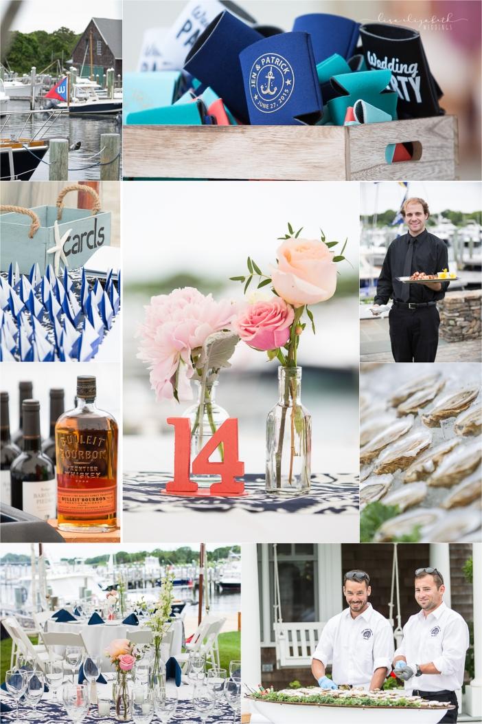 Jen + Patrick - Nauticus Marina Wedding - Cape Cod Wedding Photographer-12