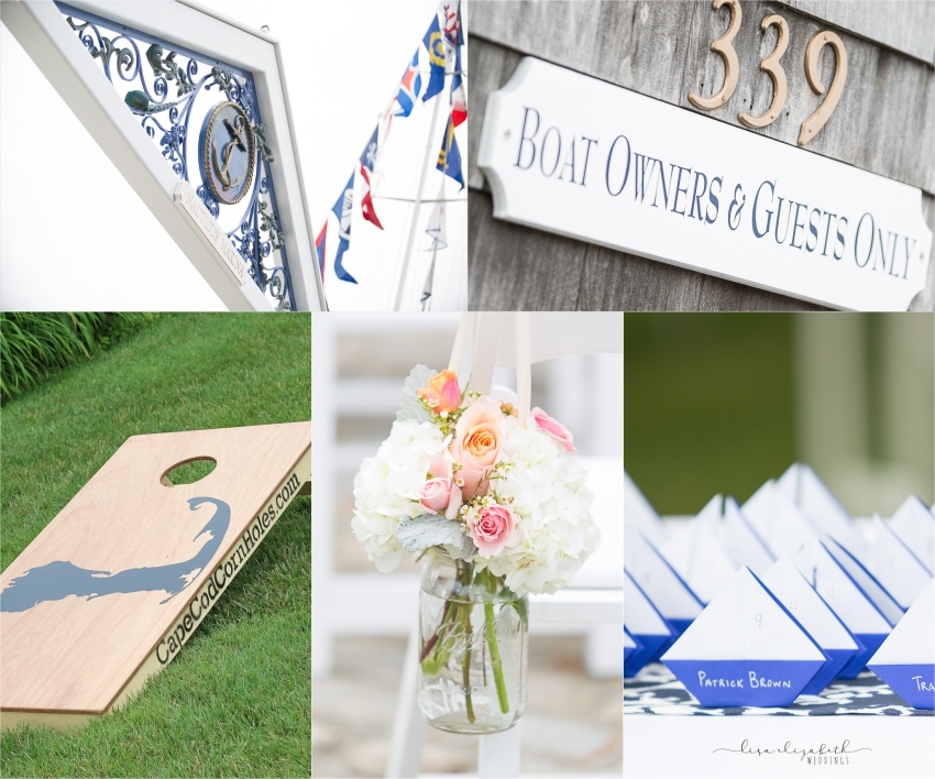 Jen + Patrick - Nauticus Marina Wedding - Cape Cod Wedding Photographer-13