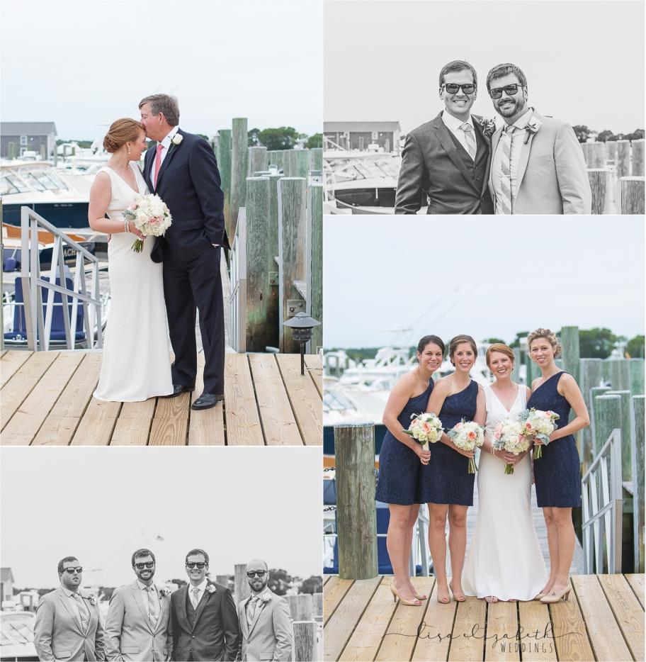 Jen + Patrick - Nauticus Marina Wedding - Cape Cod Wedding Photographer-6