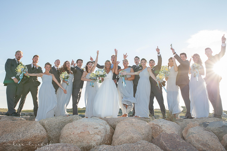 Cape Cod Wedding Photography: Red Jacket Beach Wedding